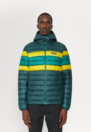 SWEATER HOODY - Down jacket - dark borealis green
