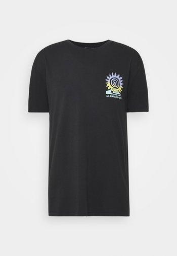 ISLAND PULSE - Print T-shirt - black