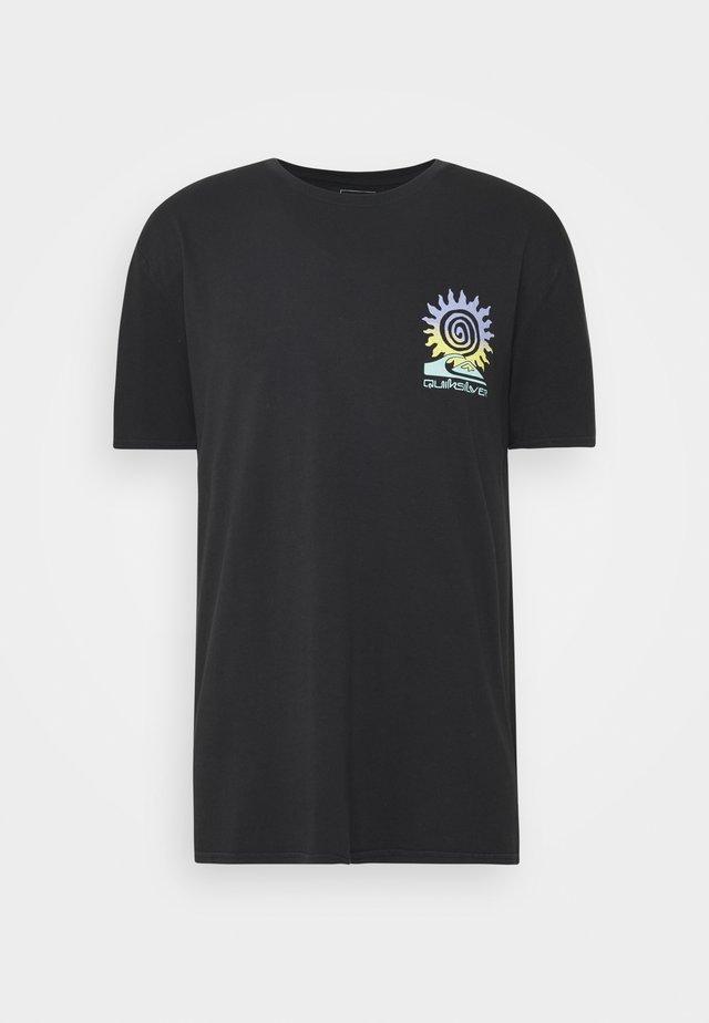 ISLAND PULSE - T-shirt con stampa - black