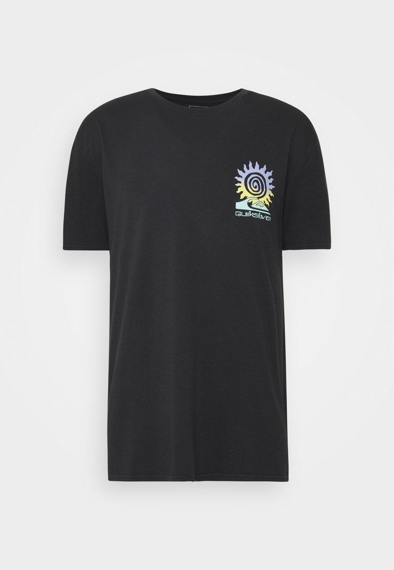 Quiksilver - ISLAND PULSE - T-shirt con stampa - black