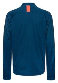 Nike Performance - DRY ACADEMY DRIL - Sports shirt - valerian blue/laser crimson - 1
