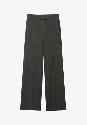 PETRA  - Trousers - GREY MELANGE