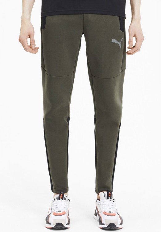 Puma - Tracksuit bottoms - forest night