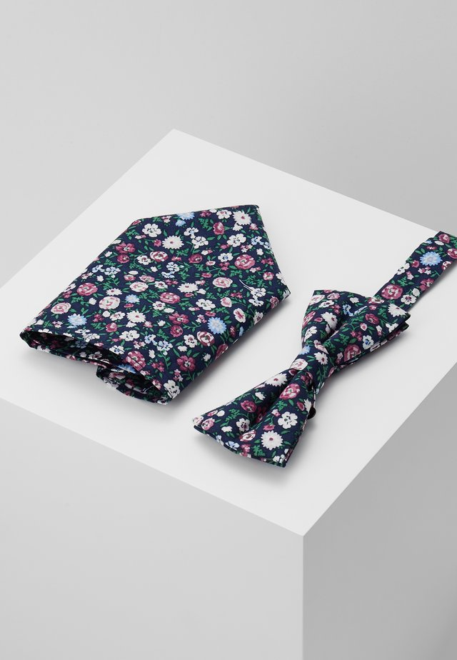 ONSTBOX BOW TIE & HANKERCHIEF - Pocket square - black