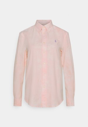 RELAXED LONG SLEEVE - Camisa - resort pink