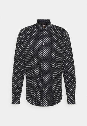 GENTS SLIM - Shirt - black