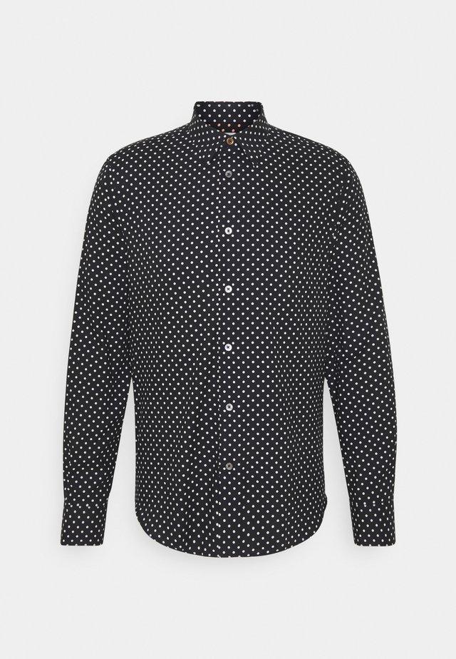 GENTS SLIM - Overhemd - black