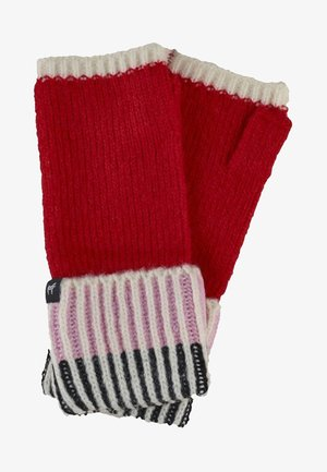 Fingerless gloves - pink