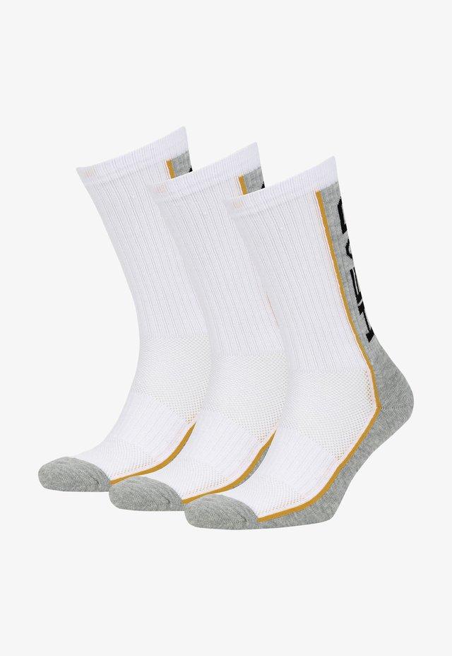 3 PACK - Sokken - white/grey