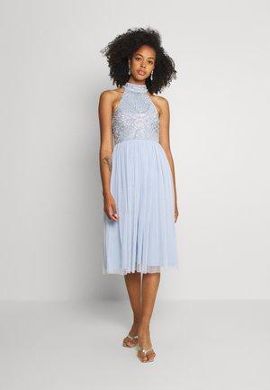 MAISY MIDI - Cocktail dress / Party dress - light blue