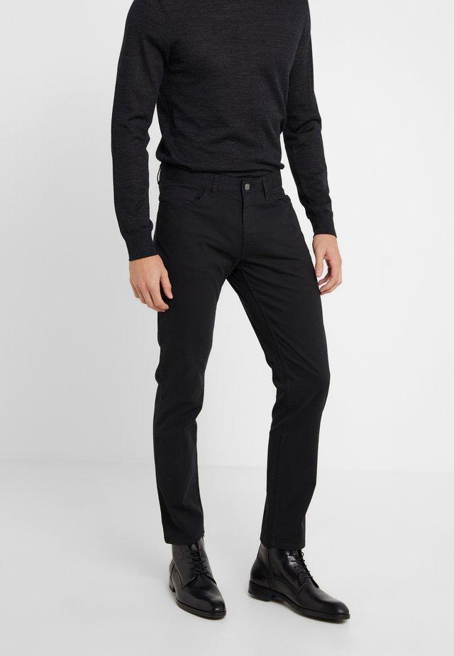 POCKET PANT - Trousers - black
