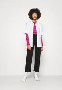 GAP - BATEAU - Maglietta a manica lunga - pink stripe - 1