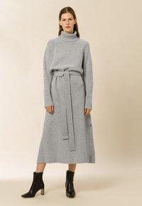 IVY & OAK - ROSE KAMELA  - Maxi dress - oyster grey melange - 1