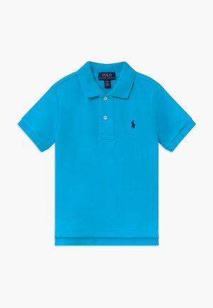 Polo shirt - liquid blue
