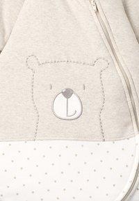Jacky Baby - MIT ABNEHMBAREN ÄRMELN HELLO WORLD - Baby's sleeping bag - beige melange - 3