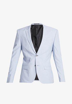 CHECK - Suit jacket - blue