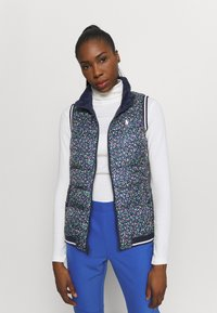 Polo Ralph Lauren Golf - VEST  - Kamizelka - frnch navy/preppy petals multi
