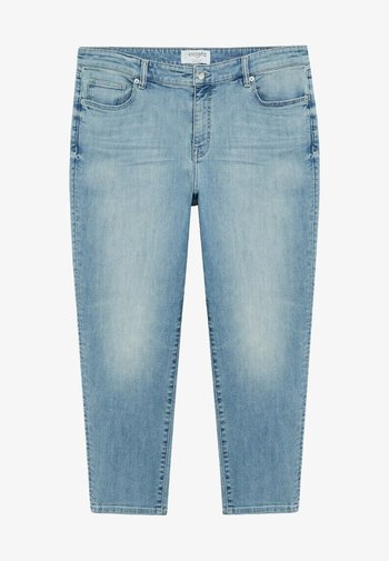 CLAUDIA - Relaxed fit jeans - hellblau