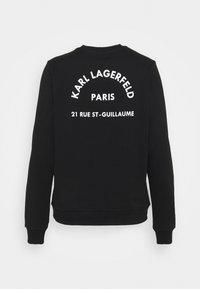 KARL LAGERFELD - ADDRESS LOGO - Sweatshirt - black - 7