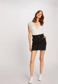 Morgan - Denim skirt - black - 1