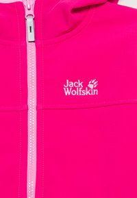 Jack Wolfskin - FOURWINDS JACKET KIDS - Softshelljas - pink peony - 2