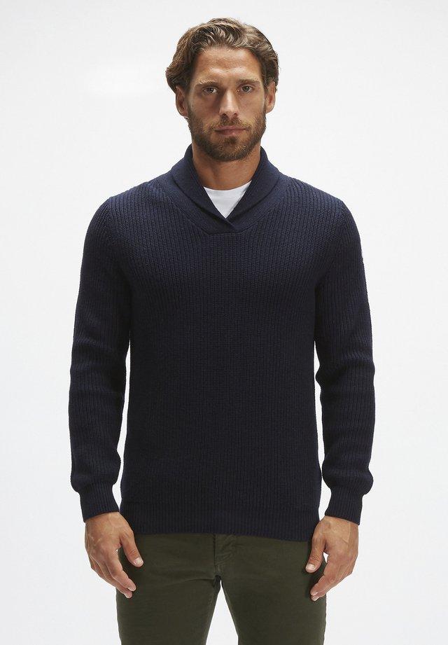 Jersey de punto - navy blue