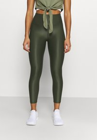 Sweaty Betty - HIGH SHINE 7/8 WORKOUT - Leggings - dark forest green - 3