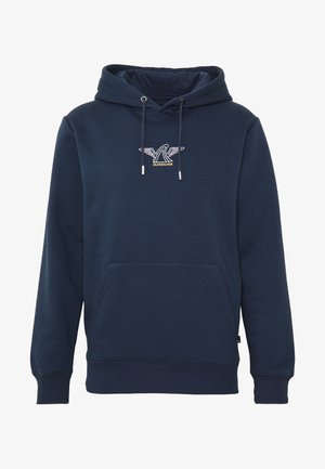 QUIK LOCAL SHAPER SCREENFLEECE - Hoodie - parisian night