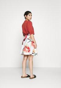 Anna Field Petite - Mini skirt - white - 2