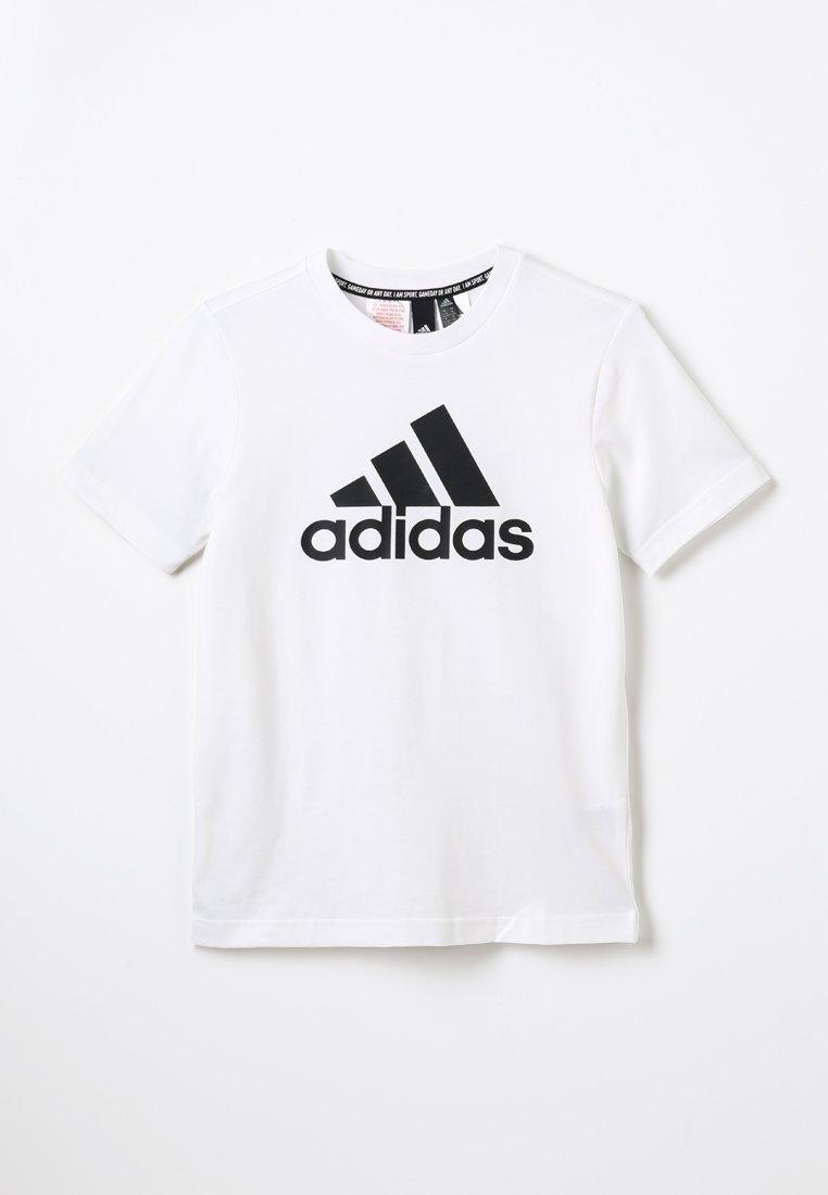 adidas Performance - UNISEX - T-shirt imprimé - white/black