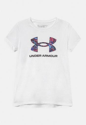 TECH SOLID - Print T-shirt - white