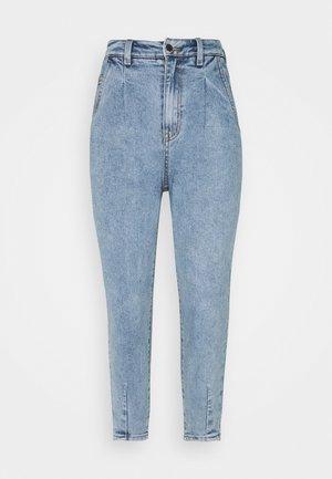 OBJROXANE ANKLE - Relaxed fit jeans - light blue denim