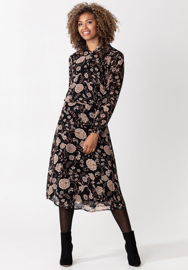 Indiska - ROS - A-line skirt - black
