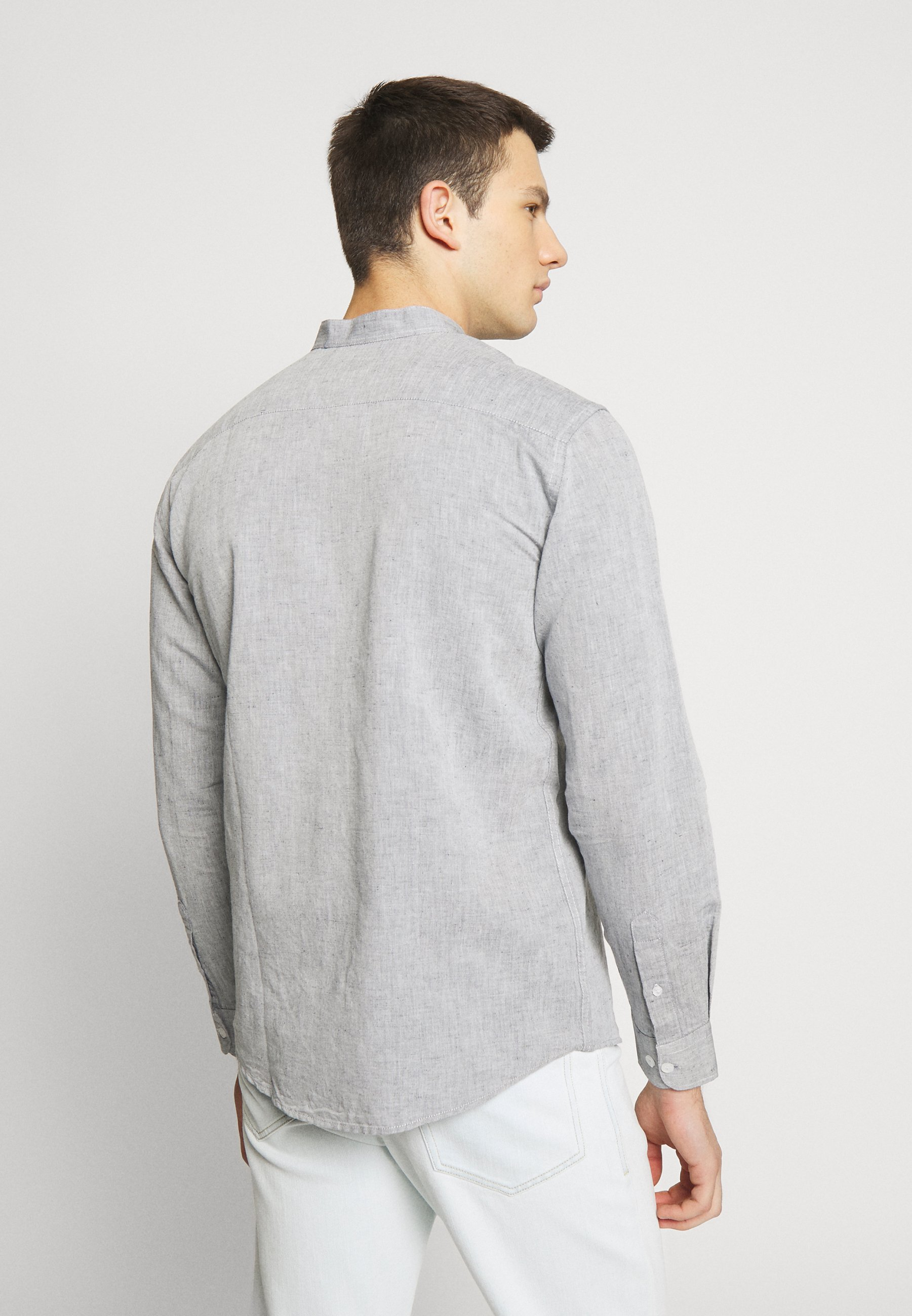 BY GARMENT MAKERS THE ORGANIC MANDARIN - Chemise - navy blazer