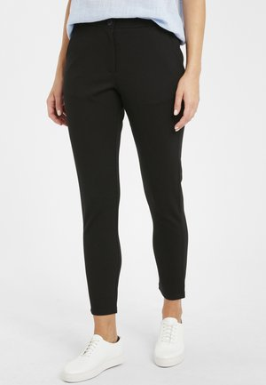 STOFF RIZETTA - Trousers - black