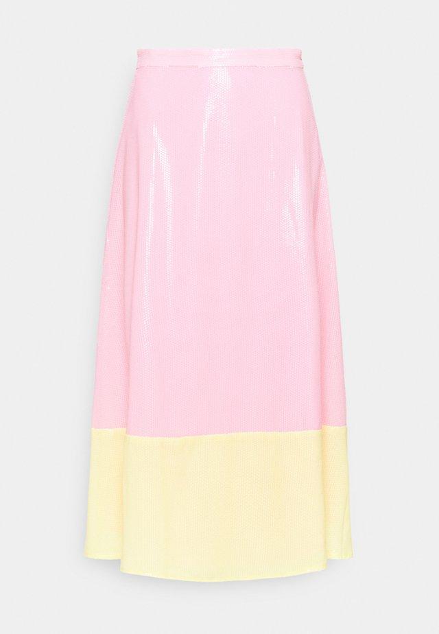 PENELOPE SKIRT - A-line skirt - colourblock