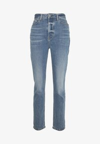 edc by Esprit - VINTAGE - Straight leg jeans - blue medium wash - 3