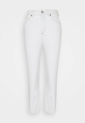 TROUSER HIGH WAIST - Straight leg jeans - blue denim