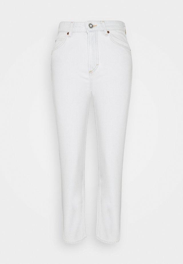 TROUSER HIGH WAIST - Jeans a sigaretta - blue denim