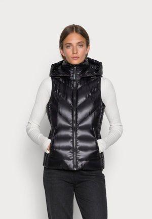 LOFTY - Waistcoat - black