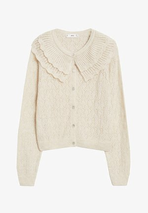DOLLY - Cardigan - blanc cassé