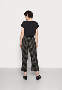 Opus - MAHOLA ABSTRACT - Trousers - soft moss - 2