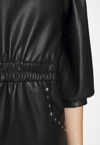 Noisy May - NMHILL SLEEVE STUD DRESS - Sukienka letnia - black - 6