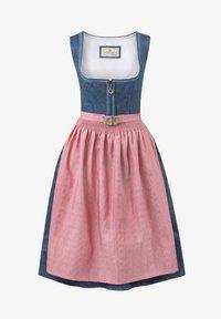 Stockerpoint - ROSELINE - Dirndl - blue/old pink - 4
