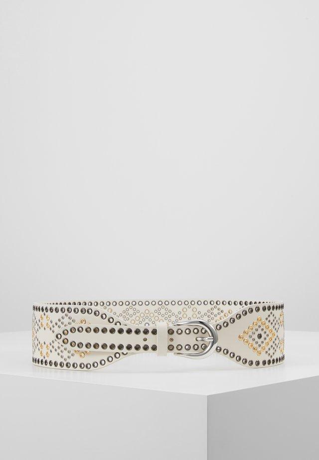 ALIOR - Ceinture taille haute - white