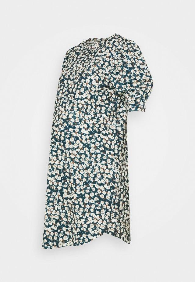 MLCAMI DRESS - Jerseykjoler - frosty green/white/brown