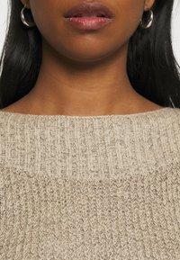 JDY - JDYWHITNEY MEGAN BOAT DRESS - Jumper dress - beige - 5