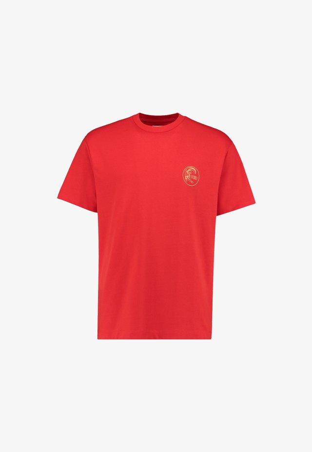 O'RIGINALS FILL - T-shirt imprimé - fiery red