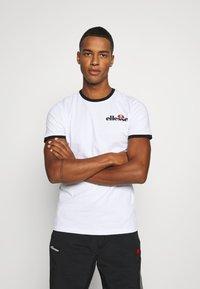 Ellesse - MEDUNO RINGER - Print T-shirt - white - 1