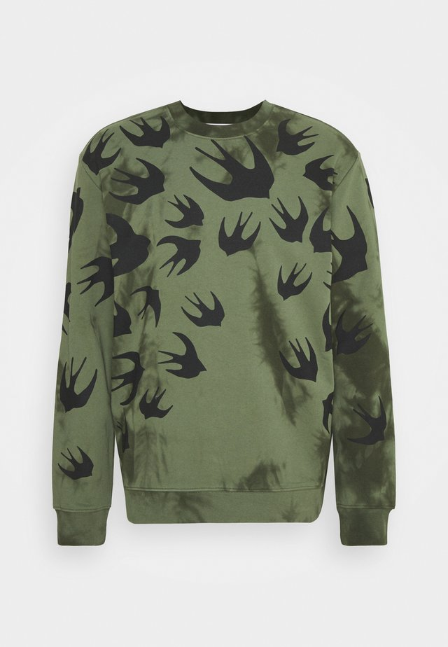 CREW NECK TIE DYE  - Sweater - olive